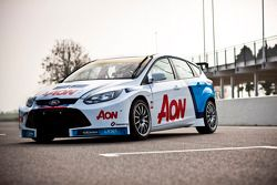 El Ford Focus del Team Aon