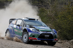 Jari-Matti Latvala y Miikka Anttila, Ford Fiesta RS WRC, Ford World Rally Team