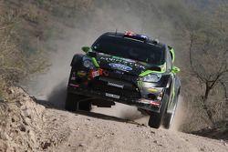 Chris Atkinson y Stéphane Prévot, Ford Fiesta RS WRC
