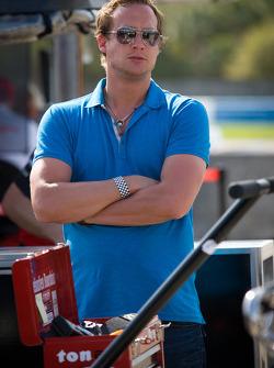 Peter Terting, boyfriend of Katherine Legge, Lotus Dragon Racing Lotus