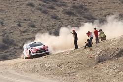 Evgeney Novikov y Denis Giraudet, Ford Fiesta RS WRC
