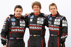 Tom Kimber-Smith, Lucas Ordonez en Alex Brundle