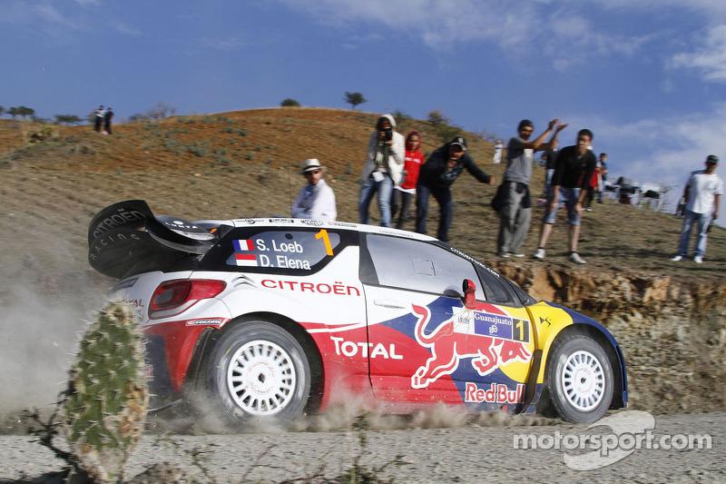 2012: Sébastien Loeb y Daniel Elena, Citroën DS3 WRC