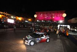 Nasser Al-Attiyah y Giovanni Bernacchini, Citroën DS3 WRC, Qatar World Rally Team