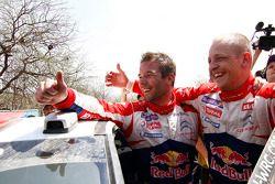 Winnaar Sébastien Loeb en Mikko Hirvonen, Citroën Total World Rally Team