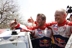 Ganador Sébastien Loeb y Mikko Hirvonen, Citroën Total World Rally Team