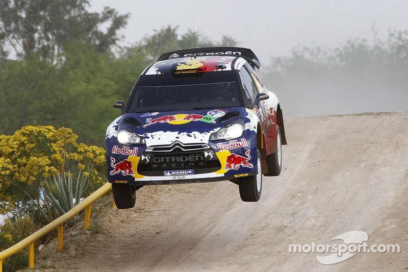 Thierry Neuville y Nicolas Gilsoul, Citroën Junior World Rally Team