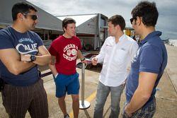 Jean-Karl Vernay, Loic Duval and Soheil Ayari
