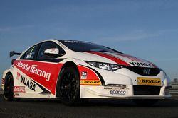 The 2012 Honda for BTCC