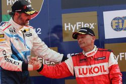 Yvan Muller and Gabriele Tarquini