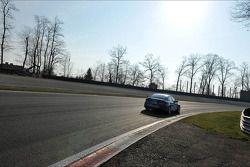 Yvan Muller, Chevrolet Cruze 1.6T, Chevrolet race winner and Robert Huff, Chevrolet Cruze 1.6T, Chev
