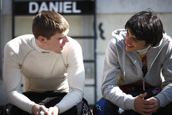 Conor Daly, Lotus GP and Carlos Sainz Jr, Lotus GP
