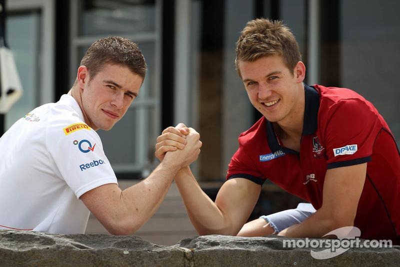 Paul di Resta, Sahara Force India Formula One Team and Jack Trengove, Australian rules football player