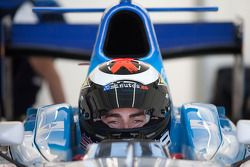 Jorge Lorenzo tests the Barwa Addax Team GP2 car