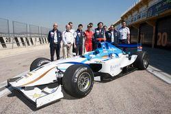 Jorge Lorenzo prueba el coche de GP2 de Barwa Addax Team