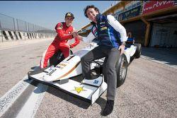 Jorge Lorenzo testet das GP2-Auto von Team Barwa Addax