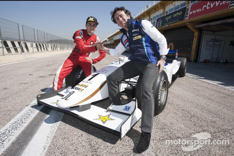Jorge Lorenzo test de Barwa Addax Team GP2
