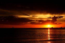 St. Kilda Beach atmosfer