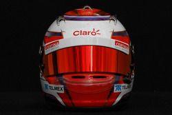 Kamui Kobayashi, Sauber F1 Team, kask