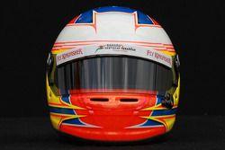 Paul di Resta, Sahara Force India Formula 1 Team, kask