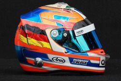 Timo Glock, Marussia F1 Team, kask
