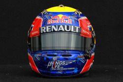 Mark Webber, Red Bull Racing, kask