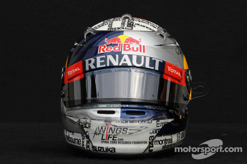 Sebastian Vettel, Red Bull Racing helm
