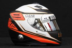 Casco de Kimi Raikkonen, Lotus Renault F1 Team
