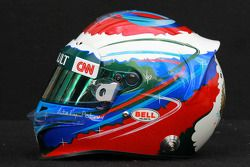 Vitaly Petrov, Caterham F1 Team, kask