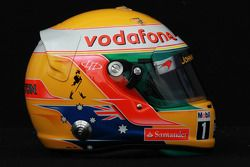Lewis Hamilton, McLaren Mercedes, kask