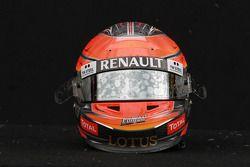Romain Grosjean, Lotus Renault F1 Team, kask