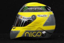 Nico Rosberg, Mercedes GP, kask