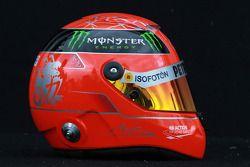 Michael Schumacher, Mercedes GP, kask