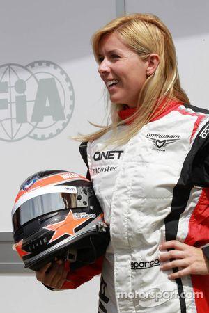 Maria de Villota, piloto de pruebas, Marussia F1 Team