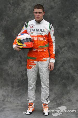 Paul di Resta, Sahara Force India Formula 1 Team