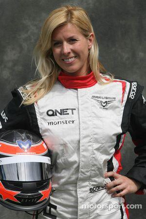 Maria de Villota, Marussia F1 Team, Testfahrerin
