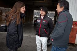 Cyndie Allemann, Chiyo Katsumasa and Michael Kim