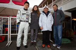 Haruki Kurosawa, Cyndie Allemann, Motoharu Kurosawa and Michael Kim