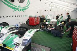 Black Swan Racing team area