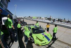 #57 Krohn Racing Ferrari F458 Italia: Tracy Krohn, Nic Jonsson, Michele Rugolo