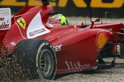 Felipe Massa, Scuderia Ferrari off track
