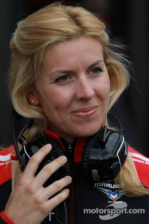 María De Villota, piloto de pruebas, Marussia F1 Team