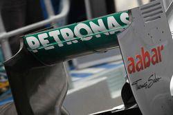 Nico Rosberg, Mercedes GP arka kanat