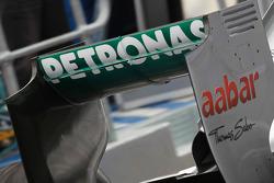 Nico Rosberg, Mercedes GP aileron arrière