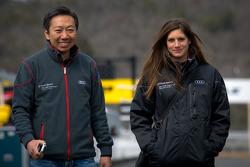Michael Kim and Cyndie Allemann