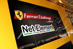 Ferrari Challenge signage