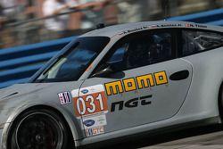 #031 NGT Motorsport Porsche 911 GT3 Cup: Angel Andres Benitez Jr., Angel Rafael Benitez Sr., Nick Ta