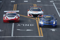 #8 Cadillac Racing, Cadillac ATS-VR GT3: Michael Cooper; #16 Wright Motorsports, Porsche 911 GT3 R: Michael Schein; #43 RealTime Racing, Acura NSX GT3: Ryan Eversley