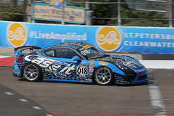 #018 Case.It Racing, Porsche Cayman GT4 Clubsport MR: Cameron Cassels