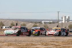 Matias Jalaf, Indecar CAR Racing Torino, Jonatan Castellano, Castellano Power Team Dodge, Sergio Alaux, Donto Racing Chevrolet